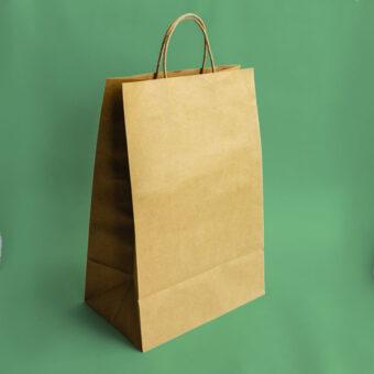 Bolpack - Bolsa de papel kraft con asa
