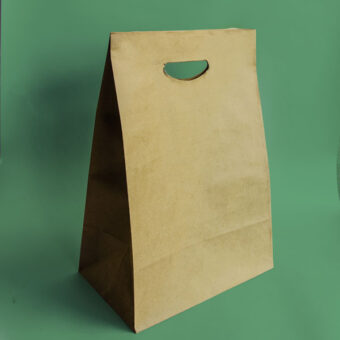 Bolpack - Bolsa de papel kraft con troquel